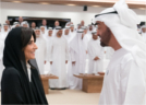 Fund presents its successes to the Crown Prince of Abu Dhabi